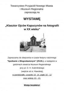 plakat Klasztor Ojców Kapucynów na fotografii w XX wieku-page-001